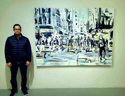 Nathan in Cheryl Hazan Gallery in New York City