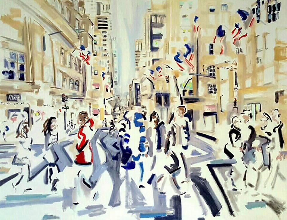 Nathan DiStefano painting